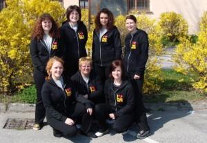 Některé členky družstva žen SDH Velešín